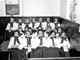 Livingston Reformed Church Childrens Chorus Linlithgo 1959