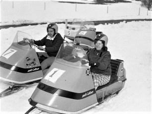 Snowmobile Races Livingston Rec Park 1969 (2)