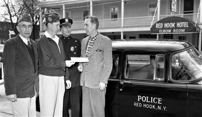 American Legion donates for new Police radio Red Hook 1956 (1)