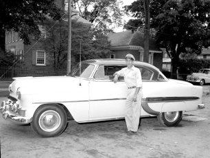 Burt Coons Garage Red Hook 1953 Chev