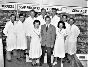 Grand Union Staff Red Hook 1954