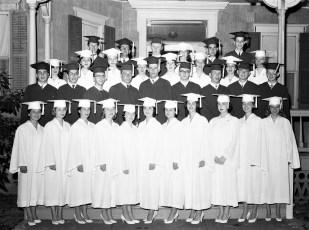 Red Hook High School Graduation 1957 (3)