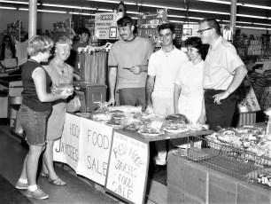 Red Hook Jaycees Food Sale 1968