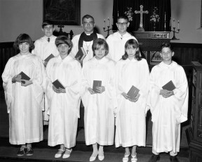 St. Paul's Lutheran Church Confirmation Red Hook 1967