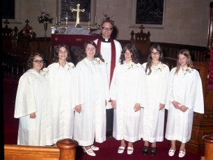 St. Paul's Lutheran Church Confirmation Red Hook 1972