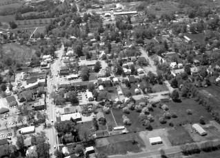 Town & Village of Red Hook aerial views 1969 (2)