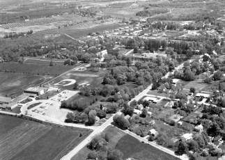 Town & Village of Red Hook aerial views 1969 (4)