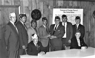 VFW Red Hook Installation of Officers 1970