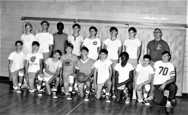 Rhinebeck Central School B-Ball Team 1968