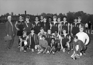 Rhinebeck Country School soccor team 1969