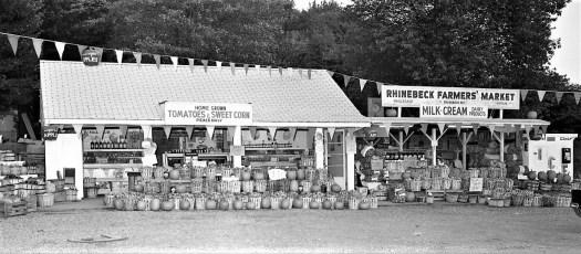 Rhinebeck Farmers Market 1970