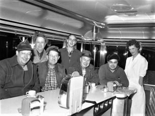 Burt Coon's Chief Taghkanic Diner The Regulars Rt 82 Taghkanic 1959