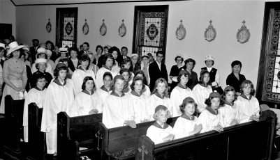 Holy Cross Church Confirmation Taghkanic 1965