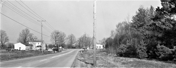Intersection of Rt. 9 & 9H Valatie 1957 (2)