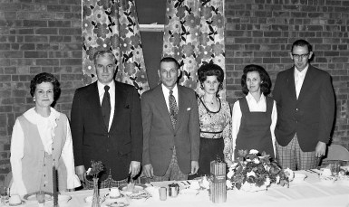 Stockport Fire Co. Annual Banquet 1974