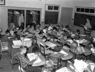 Stottville School Classrooms 1961 (1)