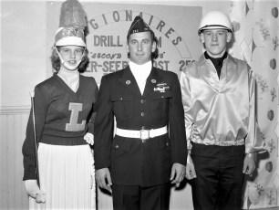 Philmont American Legion Drill Team members 1963