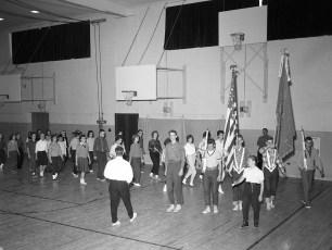 Philmont American Legion Drill Team members drilling 1963 (2)