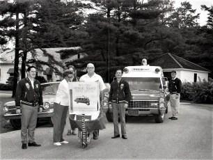 Philmont Rescue Squad Wheelbarrow Fund Drive 1972