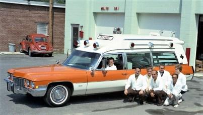 Philmont Rescue Squad new ambulance 1972