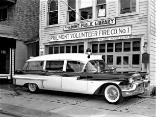 Philmont Rescue Squad with new ambulance 1959 (5)