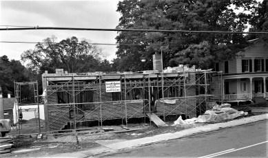 Philmont Town Building construction 1962 (1)