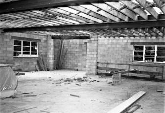 Philmont Town Building construction 1962 (2)