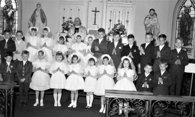 Sacred Heart Church 1st Communion Philmont 1967