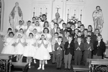 Sacred Heart First Communion Philmont 1965