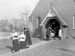 St. Marks Church Memorial Service for General MacArthur Philmont 1964 (2)