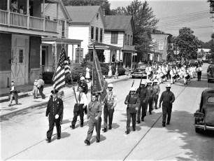 Memorial Day Parade Tivoli NY 1950