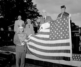 Tivoli American Legion New Flag Ceremonies 1963 (3)