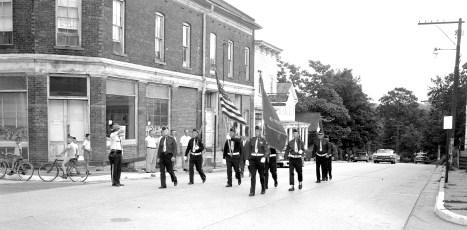 Tivoli American Legion New Flag Ceremonies 1963 (8)