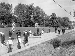 Tivoli Labor Day Parade 1956 (1)