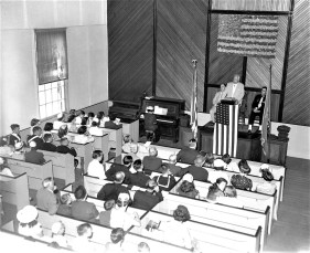 Tivoli Memorial Day Parade 1955 (1)
