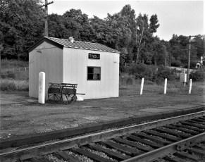 Tivoli Railroad Shelter 1959