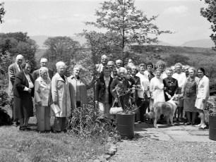 Tivoli Senior Citizens Club at the Lindsley's 1973 (1)