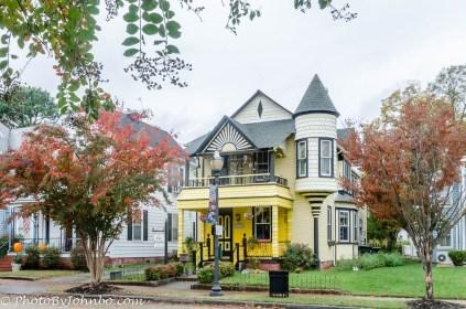 Victorian mansion.