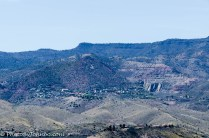 View of Jerome from the rooftop.
