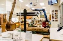 Instrument restoration lab.