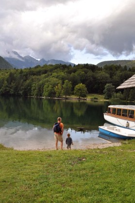 Father & Child, Bohinj Lake