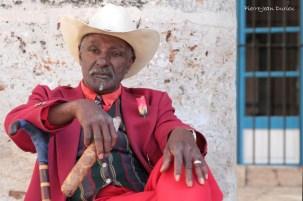Acteur fumant un cigare, La Havane, Cuba, Février 2014
