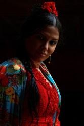 Jeranys « La Yera », danseuse de Flamenco, à La Casa de la Memoria, Séville, 28 octobre 2015