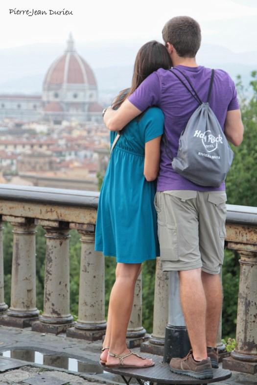 Amoureux à Florence, 14 Septembre 2015