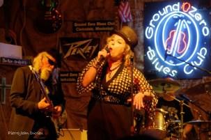 Concert au Ground Zero Blues Club, Clarksdale, 9 mai 2015