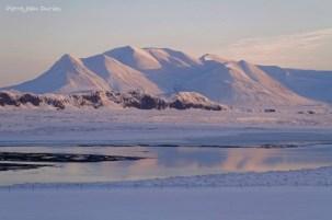 Reflets, Péninsule de Vatnsness, Islande