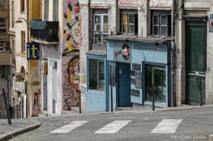 Rue en pente, Croix-Rousse