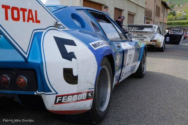 La Ligier avant le départ, Tour Auto à Marchampt, 20 Avril 2016