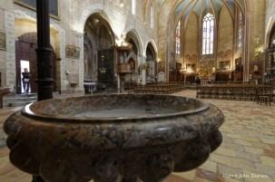 Eglise gothique méridionale de Lagrasse, 28 mai 2016
