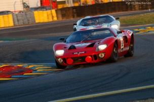 Ford commémore les Cinquante Ans de la victoire de la Ford GT 40, Le Mans 9 juillet 2016